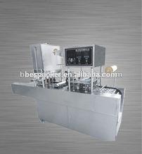 yogurt/juice/milk/pudding cup filling and sealing machine