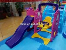 Kids Plastic Swing And Slide Set