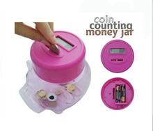 New Cartoon Pig Lovely piggy Bank Coin Box Money Saving Bank Gift