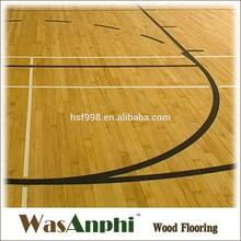 Top-Quality Maple Hardwood Basketball Flooring