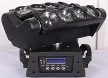 8x10W RGBW dj lights new promotion light effects