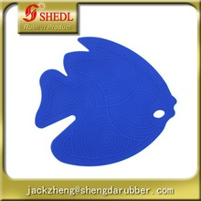 Fish Shape Heat Resistant Silicone Mat