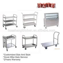 Restaurante con mesas occidental de cocción equipos que se utiliza en kfc aviones comida cesta