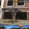 N- c- w- 1024- fibra de vidro escultura interior do dinossauro