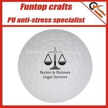 Sports premiums low price custom logo golf pu foam ball