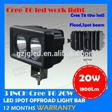 waterproof led work lamp 10w cree led work light offroad 4x4 led lighting 12v