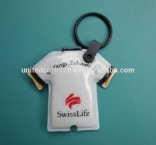 Hot sale promotion customized reflective keychain