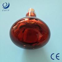 200w 300w 500w hard glass infrared heating bulb for bathroom