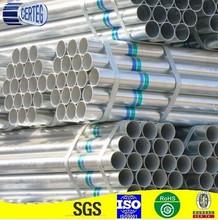 hot zinc coated steel pipe cost
