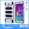 tpu soft case rugged screen protector for samsung galaxy note 4
