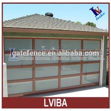 Aluminium garage door made in China & luxury garage door & garage door window inserts