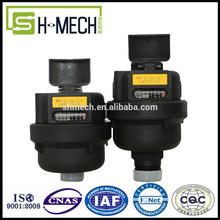 Class C R=160 volumetric rotary piston water meter high accuracy