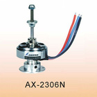2015 sample structure and high power motor AX-2306N for small electric aircraft