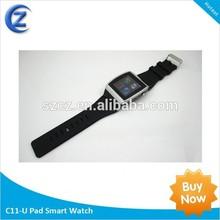 product 2014 wcdma 850 1900 Waterproof IP67 android gps smart watch flip phone watch