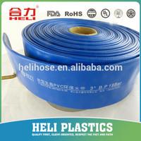PVC lay flat tubing SGS CE 2 inch galvanized pipe