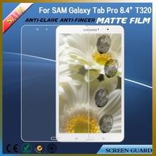 Anti glare anti-fingerprint touch screen protective film for Samsung galaxy tab pro