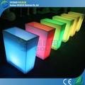 recarregável impermeável rgb led plástico vaso de flores