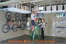 Fashionable suspending racking for home garage