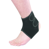 Hot selling self heating tourmaline magnetic ankle brace