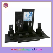 black leather jewelry display pictures & luxury jewelry display for sale
