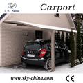 耐久性のある車の小屋の安い鋼用倉庫