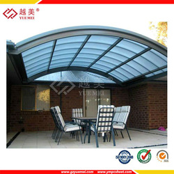 China building material polycarbonate sheet manufacturer