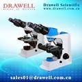 binocular microscopio biológico con wf10x ocular