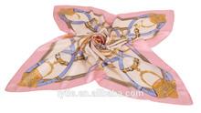 High quality digital print girl shimmer shawl long sizewinter new paris yarn print scarf shawl wrap