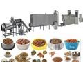 Automatique de la chine certification ce aliments pour animaux faisant la machine sèche, trefile pet food production line