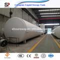 Horizontale liquide cryogénique réservoir de stockage d'oxygène de gaz de l'industrie