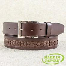 Handmade casual pure leather belt