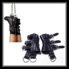 Suspensory bondage ankle Pu Leather /bondage gear/sex toys/adult product