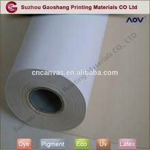 Digital printing 100% cotton canvas inkjet media