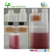 Plastic Double Neck Bottle For Dosing, 500ml Engine Oil Bottle
