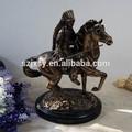 bronce antiguo caballo volador modelo de estatua