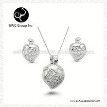 eternal heart 925 silver jewelry sets