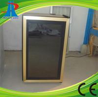 Commercial refrigerator freezer gas glass door