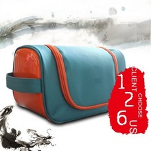 PU leather cosmetic pouch bag