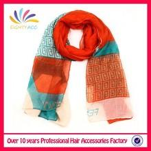 Top quality cheapest quality america flag big scarf