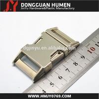 Dongguan Jinyu bulk metal side release buckle for dog collar/paracord different size custom logo provide