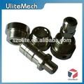 alumínio e latão de usinagem cnc de peças de máquinas
