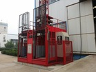 SC200/200 Double Cage Construction Elevator construction machine