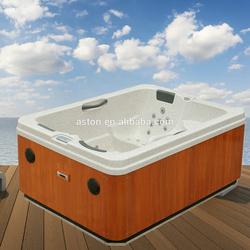 Outdoor Family 2-3 people Garden massage spa pool hot bathtub