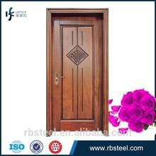 wooden doors low prices/solid wood made/porte solidwood door