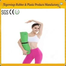 Extra long yoga mat/yoga mat material rubber