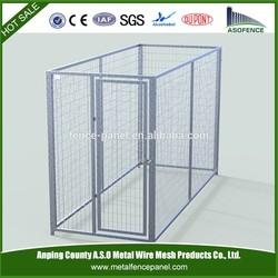 China wholesale metal dog kennel / dog kennel cage / galvanized steel dog kennel