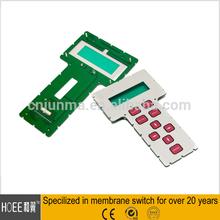 Hot Universal Popular Controller Membrane Switch Flat TV Remote Control
