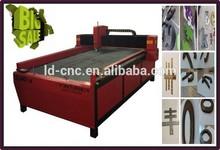 LD1325 CNC plasma cutting machine metal cutting punch hole machine
