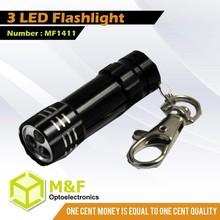 Manufacturer Led Flashlight Torch Light Mini Keychain Light
