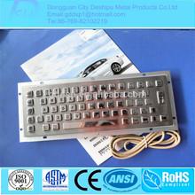 Superior Quality Specialized Customized Industrial USB/Kiosk Metal Keyboard